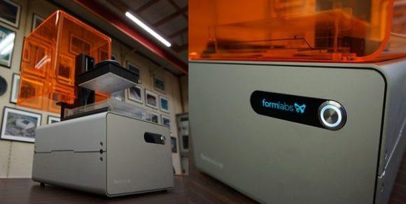 ハイクオリティ3DプリンターFORM1がやってきた