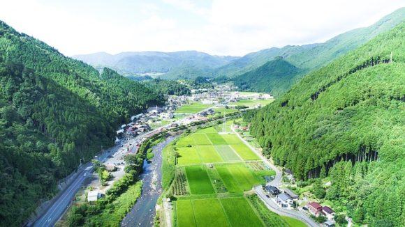 ドローンを利用して日本の原風景を模型で再現できないか