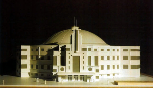 大阪大国技館の模型